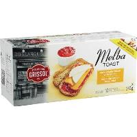 CB387 : Melba Toast Blé Complet