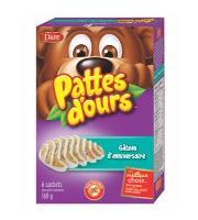 CB543 : Patte D'ours Gateau Fete