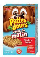 CB694 : Pattes D'ours Pause Matin Fraises