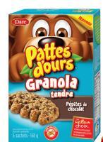 CB963 : Pattes D'ours Granola Pepites Choc.