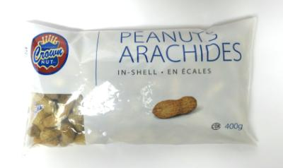 CG2033 : Crown nut CG2033 : Noix et graines - Arachides - Arachide En Écales CROWN NUT, arachide EN ÉCALES, 24 x 400 g
