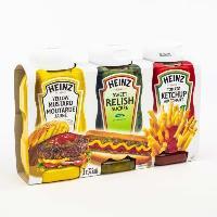 CT42 : Trio Ketchup-relish- Moutarde (1/2 Pal..)