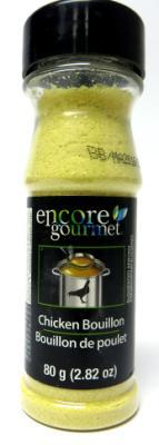 E45540 : Encore E45540 : Pâtes, riz et nouilles - Soupes - Bouil. Poulet ENCORE, BOUIL. POULET, 24 x 80g