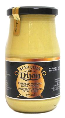 H42 : Marquis de dijon H42 : Condiments - Moutarde - Moutarde Extra-forte MARQUIS de dijon, MOUTARDE extra-forte, 12 x  375ML