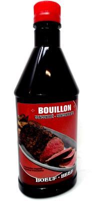 S18 : Parador S18 : Condiments - Piments - Bouillon Boeuf PARADOR, BOUILLON BOEUF, 12X500ML